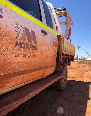 Morris Infrastructure Group ute rural