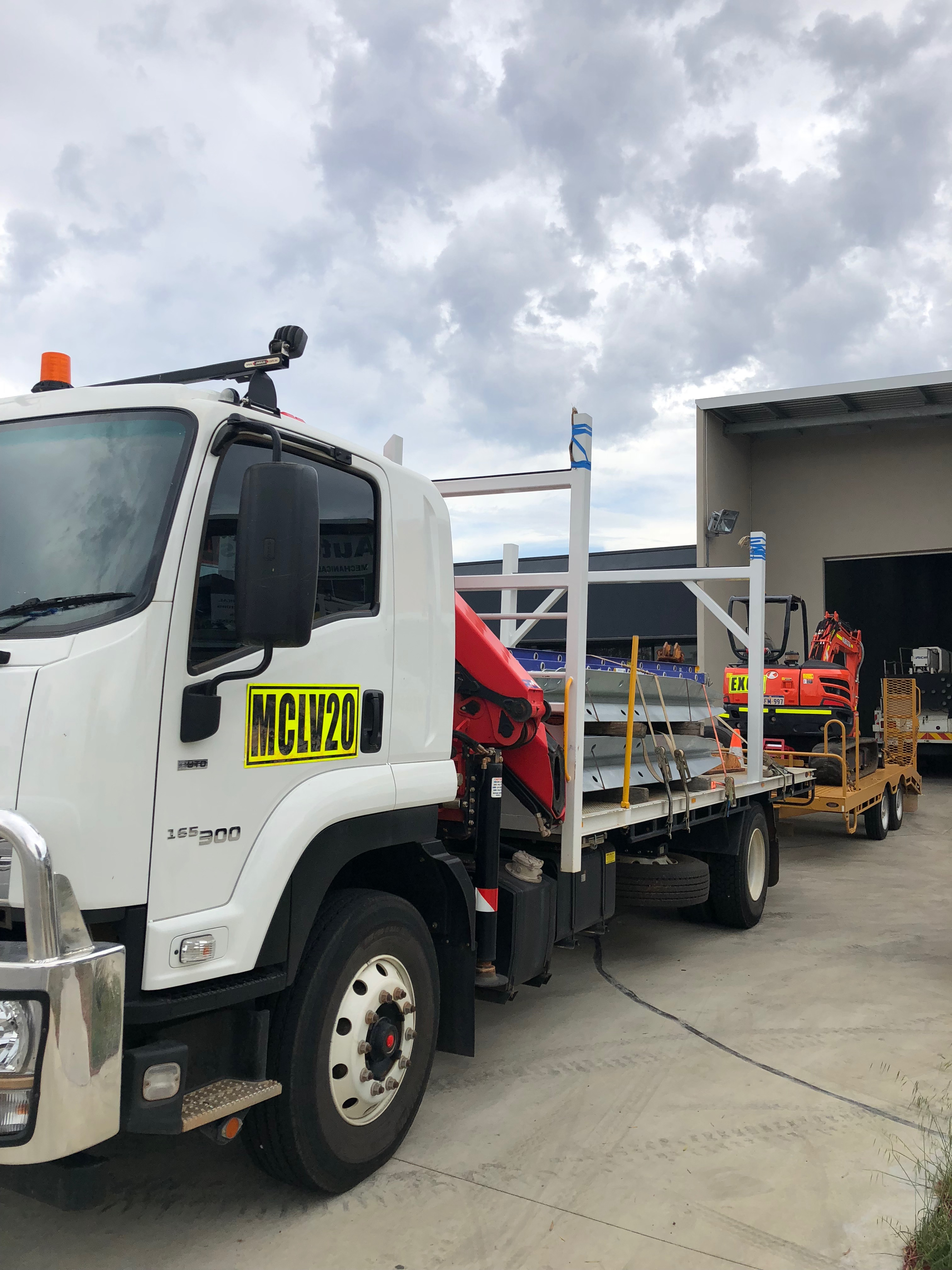 Morris Infrastructure Group Distribution Network Truck Perth